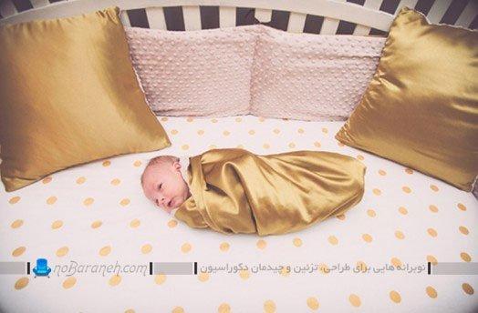 دکوراسیون و چیدمان اتاق نوزاد دختر
