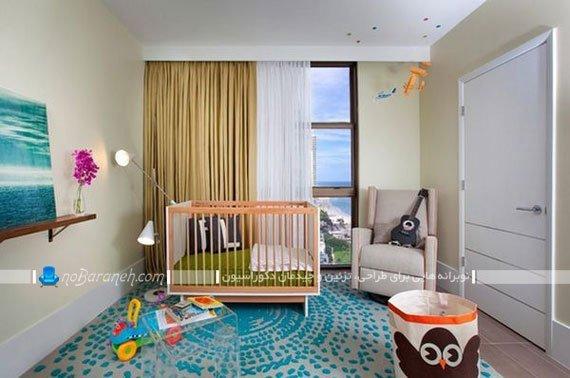 تزیینات ساده برای اتاق نوزاد