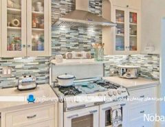 چیدمان لوازم و تزیین فضای داخلی آشپزخانه