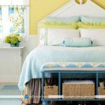طراحی دکوراسیون و تزیین اتاق خواب با رنگهای شاد و جذاب