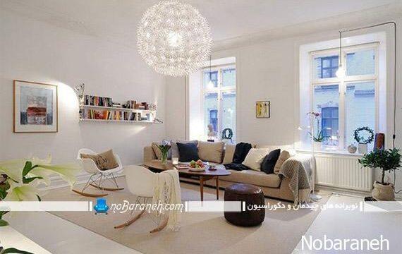 عکس و مدل طراحی دکوراسیون آپارتمان کوچک
