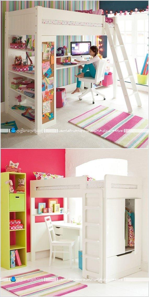 باز کردن فضا در اتاق خواب کودکان و نوجوانان با تخت کمجا