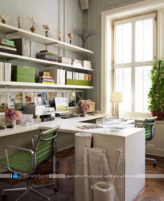 چیدمان و دکوراسیون اتاق کار در منزل