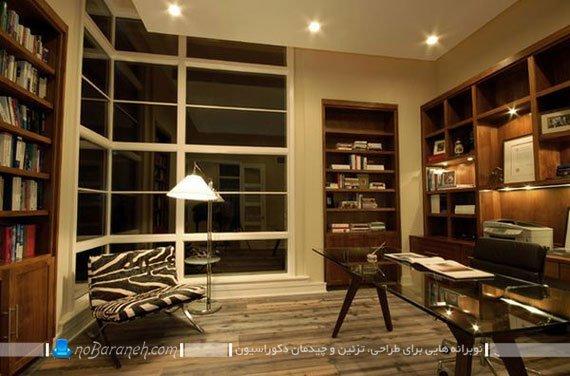 میز مدیرت شیشه ای / عکس