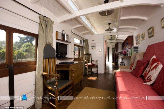 طراحی هتل در دل ترن قدیمی / عکس