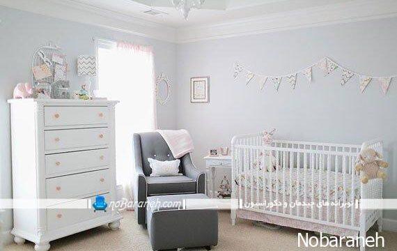 عکس دکوراسیون داخلی اتاق بچه نوزاد