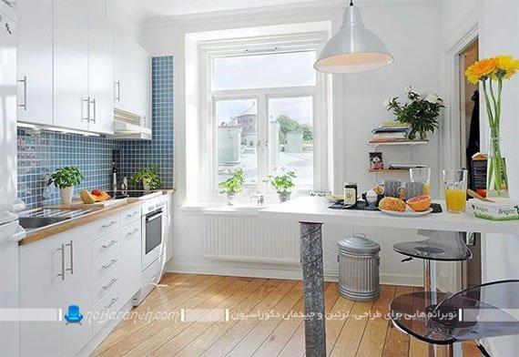 طراحی دکوراسیون شیک و ساده آشپزخانه