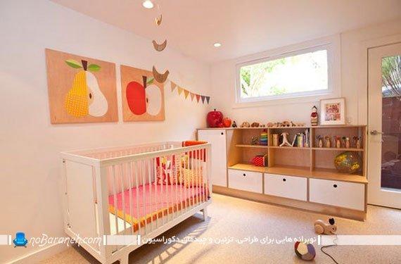 مدل تابلو اتاق کودک نوزاد