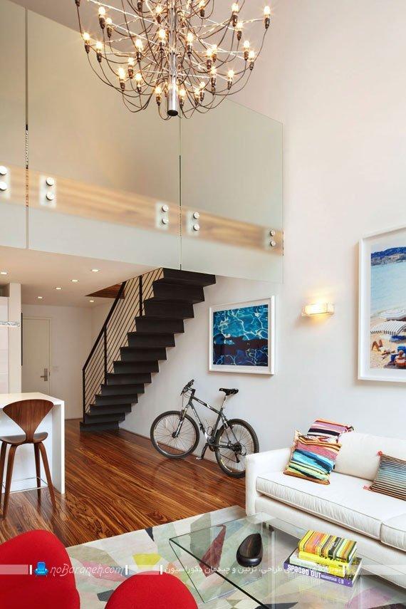 طراحی دکوراسیون داخلی خانه دوبلکس / عکس