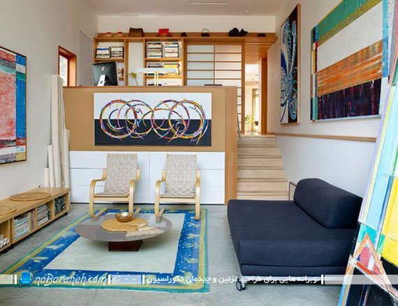 خانه دوبلکس کوچک با پله کم