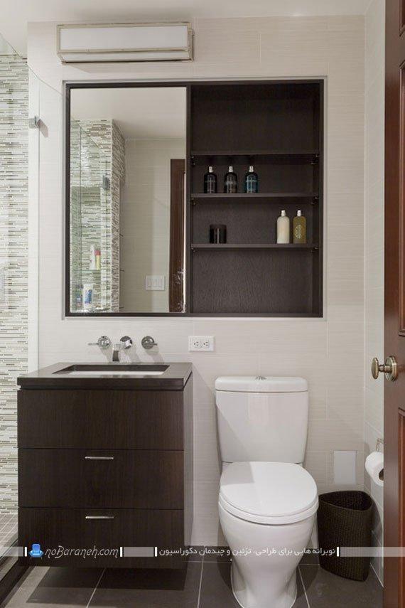 کابینت روشویی حمام / عکس