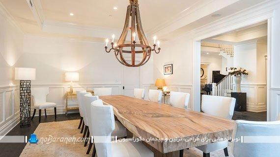 میز ناهارخوری فانتزی و سلطنتی