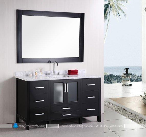کابینت حمام و دستشویی / عکس