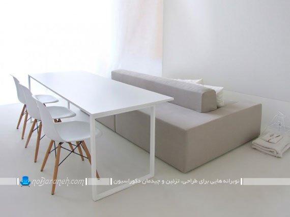 طرح جدید مبل راحتی برای خانه کوچک