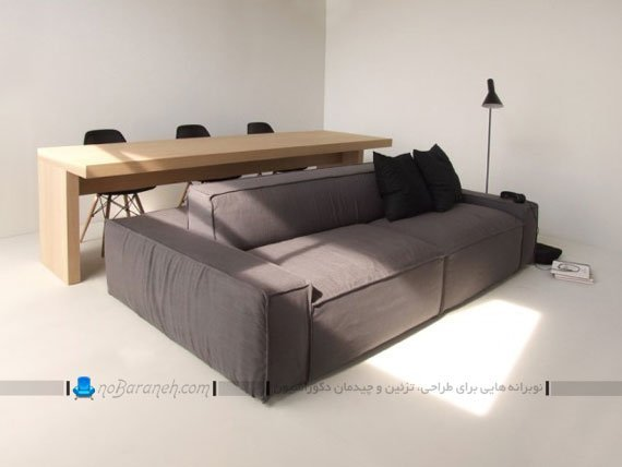 کاناپه و میز ناهارخوری کمجا و کوچک / عکس