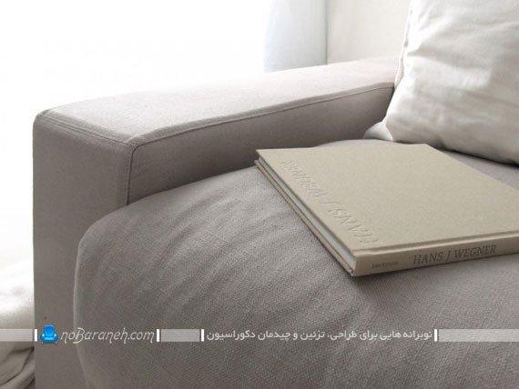کاناپه راحتی شیک و ساده / عکس