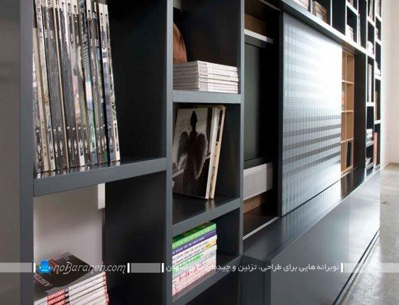 بوفه و قفسه های چوبی دکوری / عکس