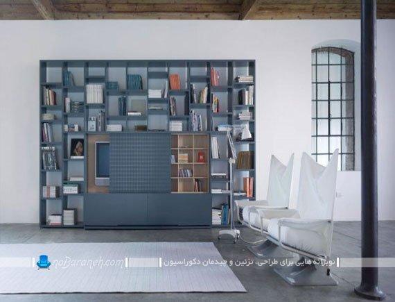 مدل بوفه و ویترین مناسب فضاهای اداری / عکس