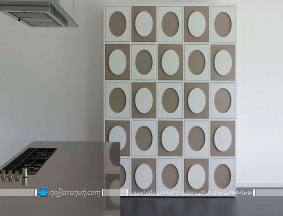 کمد و بوفه چوبی با نمای تزیینی و شیک / عکس