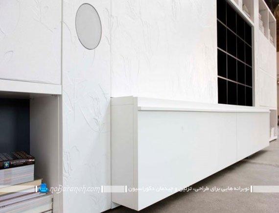 ویترین و کمدهای چوبی برای دکوراسیون اداری / عکس