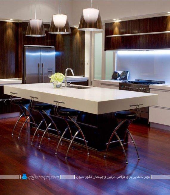 نصب نورمخفی روی کابینت آشپزخانه