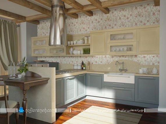 آشپزخانه کلاسیک ساده