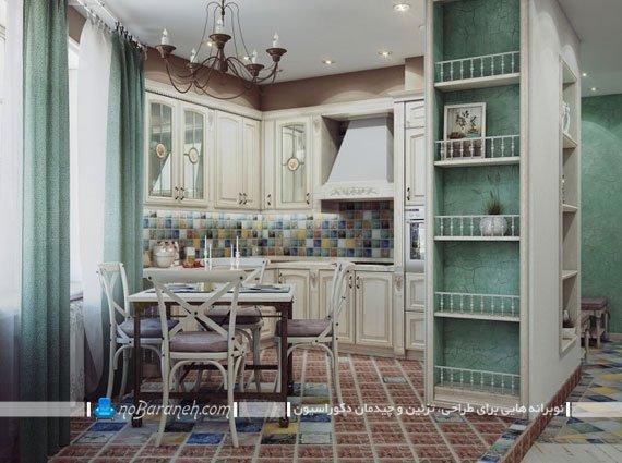 کابینت کلاسیک و ممبران آشپزخانه
