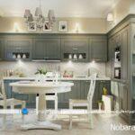 کابینت های ممبران، عنصری جداناپذیر از آشپزخانه های کلاسیک