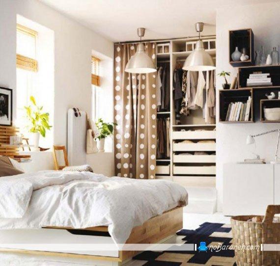 چیدمان اتاق خواب به سبک ایکیا ikea