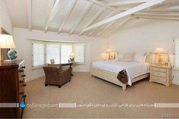 طراحی دکوراسیون کلاسیک اتاق خواب / عکس