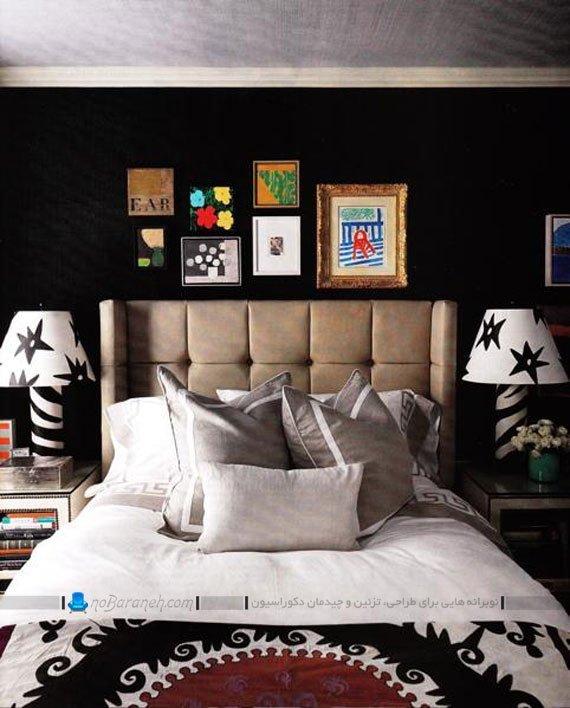 تزیینات شیک و ساده دکوراسیون داخلی اتاق خواب