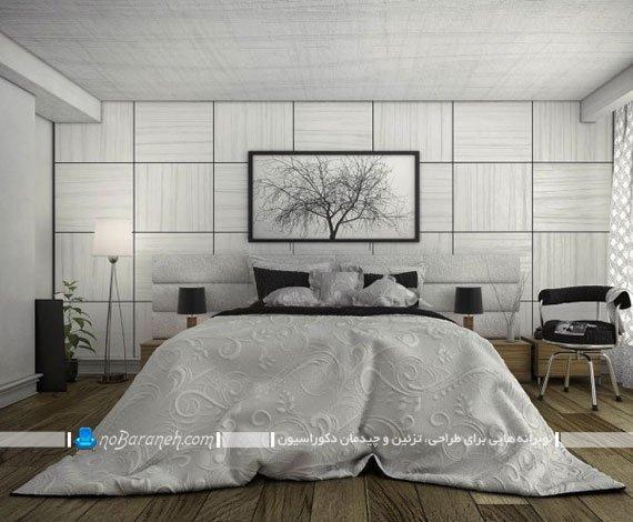 تزیین دیوار اتاق خواب عروس با دیوارپوش های آنتیک
