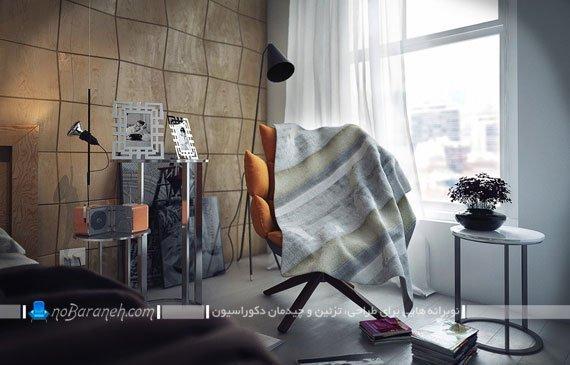 مدل های جدید سنگ ها آنتیک و تزیینی دیواری اتاق خواب
