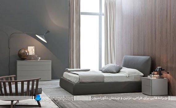 مدل تخت خواب عروس بدون پایه