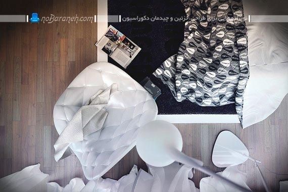 کفپوش چوبی در دکوراسیون داخلی اتاق خواب