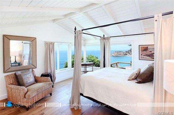 اتاق خواب کلاسیک و شیک ویلایی
