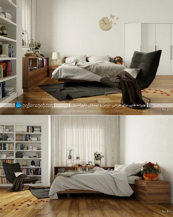 مدل اتاق خواب های شیک و ساده عروس + عکس