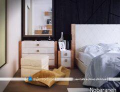 مدل سرویس خواب عروس با رنگ سفید