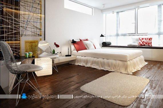 طراحی دکوراسیون اتاق خواب زیبا و مدرن