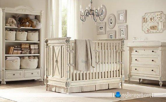 اتاق نوزاد کلاسیک