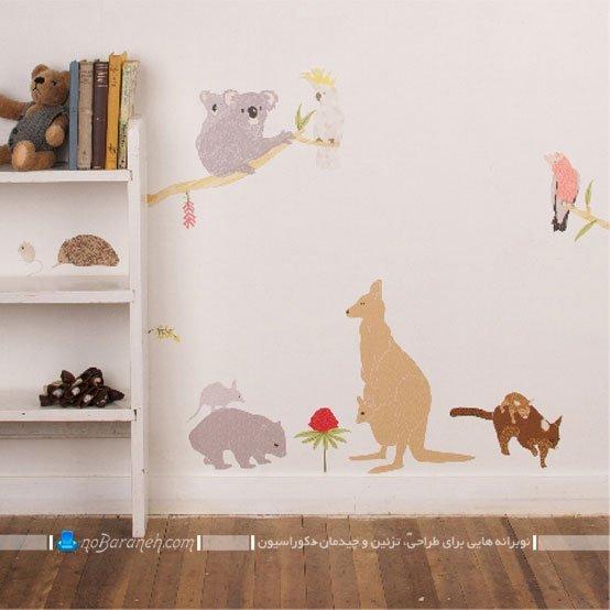 برچسب برای تزیین دیوار اتاق کودک