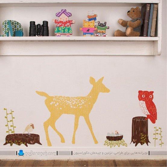 مدل برچسب و استیکر تزیینی اتاق کودک