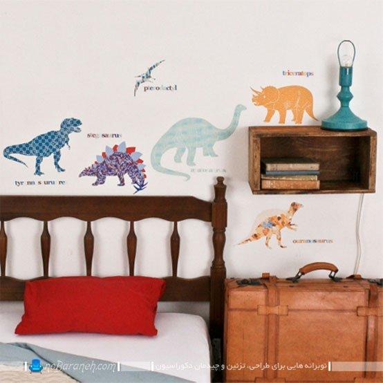 برچسب فانتزی برای تزیین اتاق کودک