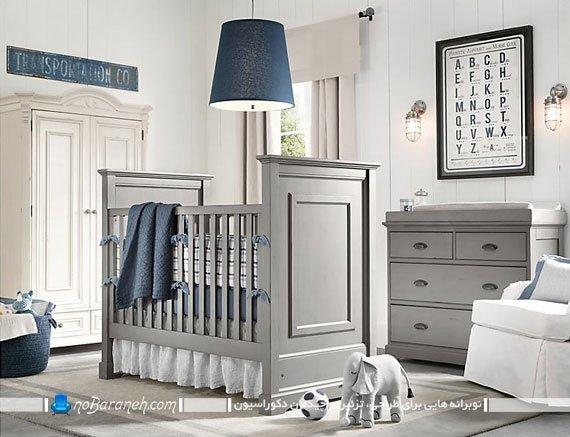 مدل های چیدمان دکوراسیون اتاق کودک نوزاد