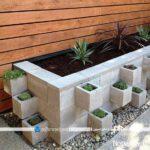 تزیین خلاقانه و ساخت مبلمان فضای باز خانه با بلوک سیمانی