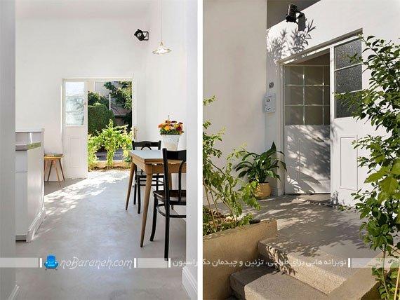 طراحی و نوسازی داخلی خانه قدیمی