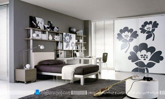 دیزاین شیک و مدرن اتاق جوانان