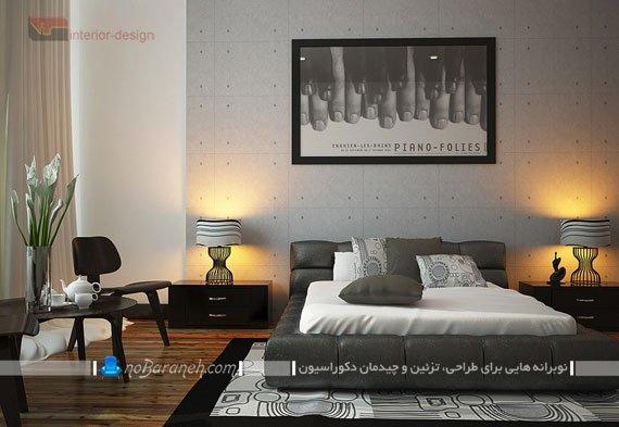 طراحی دکوراسیون و تزیین اتاق خواب مدرن