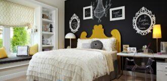 طراحی دکوراسیون کلاسیک و نیمه سلطنتی اتاق خواب