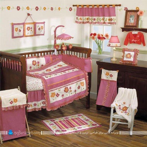 دکوراسیون اتاق نوزاد دختر / عکس
